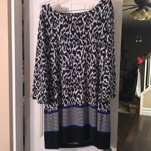 Alfani tunic blouse. Size large.